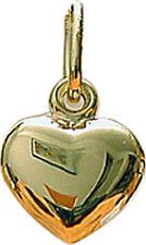 Anhänger Herz Echt Gold 333 Goldanhänger Herz Neu Gelbgold Herzanhänger