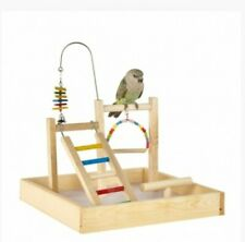 Liberta Table Cage Top wooden ladder swing Play Stand Budgie Cockatiel