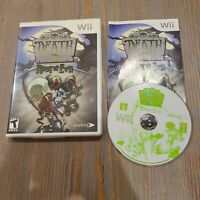 Death Jr.: Root of Evil (Nintendo Wii, 2008) Tested Working CIB Complete