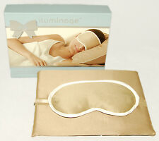 iluminage - 3 pc - Skin Rejuvenating EYE MASK + PILLOWCASES w/ COPPER OXIDE *NEW