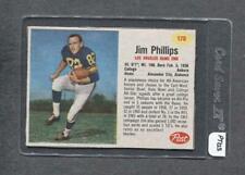 1962 Post #170 Jim Phillips (Rams) (PT12-Spout)  Ex+  (Flat Rate Ship)
