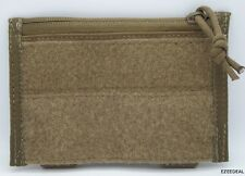 "MSM / TACTICAL TAILOR  MODULAR PANEL POUCH + TWO 3"" Malice Clips / MARINE COYOTE"
