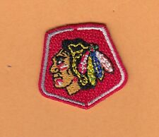 CHICAGO BLACKHAWKS Small SHIELD PATCH HAT POLO SHIRT IRON or SEW ON Unsold Stock