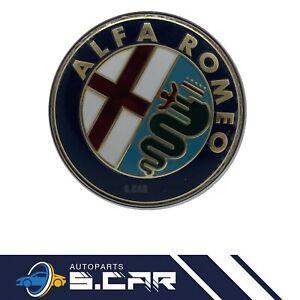 LOGO STEMMA FREGIO ANTERIORE 80 MM CON PERNO CENTRALE ALFA ROMEO GTV 147 MITO