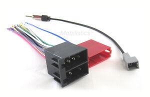 Car Stereo Wiring Combo Harness+ Antenna Adapter Fits 09-14 Select Hyundai / Kia
