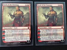 1x KOTH OF THE HAMMER SCARS OF MIRRODIN NM (2 Avail) MTG MAGIC