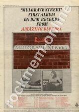 Amazing Blondel Mulgrave Street Leeds Polytechnic MM4 LP/Tour Advert 1974