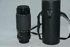 Teleobjektiv Sigma High Speed Zoom Multi-Coated 1:3.5 ~ 4 80-200mm für Minolta