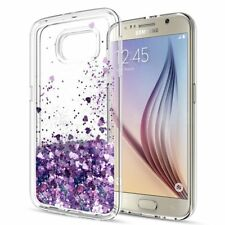 For Samsung Phone Case Motion Liquid Quicksand Glitter Clear Soft TPU Cover