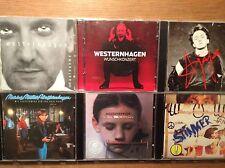 Westernhagen  [6 CD Alben] Stinker + Wunschkonzert + Nahaufnahme + JaJa + Prinz