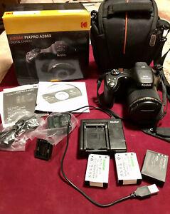 Kodak PIXPRO AZ652 Astro-Zoom Digital Bridge Camera, 20MP Sensor, 65x Zoom