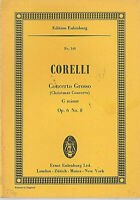 Corelli : Concerto Grosso ( Christmas Concerto ) g-moll Op. 6  ~ Studienpartitur