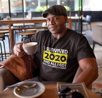 I Survived 2020 All I Got Lousy Premium Tshirt, Rona Pandemic, Cov 19 Quarantine
