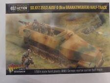 Bolt Action: German Sd.Kfz 251/2 Ausf D (8cm Granatwerfer) Half Track 1/56 scale