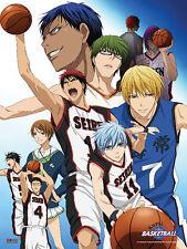 *NEW* Kuroko's Basketball: Group 2 Fabric Poster by GE Animation
