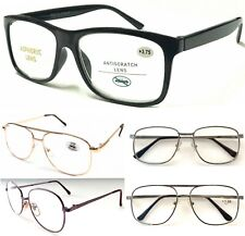 Unisex Popular Large Lens Reading Glasses/Metal Or Plastic Frame/Easy To Read ^^
