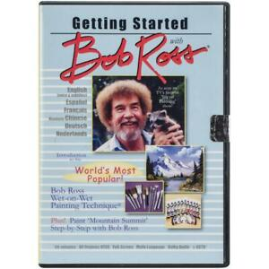 Bob Ross Oil Painting DVD Getting Started with Bob Ross - Wet on Wet Technique