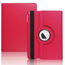 For iPad 1 2 3 4 5/6th Leather Case Rotates 360 Degrees Magnetic Cover Stand