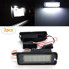 2PCS 18-SMD LED License Plate Light Fit VW GOLF GTI MK4 MK5 MK6 Phaeton Passat