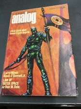 Science Fiction Analog August 1977 Signed by Orson Scott Card Ender's Game