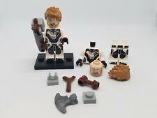 NEW authentic LEGO minifigure Thor Avengers Endgame sh572 76126 Marvel