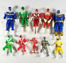 Vintage Lot Of 10 Power Ranger Action Figures 1993, 1996, Etc! - Free Shipping
