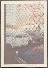 Unusual Vintage Photo VW Volkswagen Beetle Car Bug Screen Fence Filter 708363