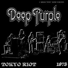 "DEEP PURPLE LIVE IN TOKYO JAPAN ""RIOT"" 1973 JUNE 25th LTD 2 CD"