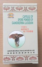 2pk Ganoderma Lucidum 144 cápsulas Spore Polvo Reishi Mushroom Ling zhi Lingzhi