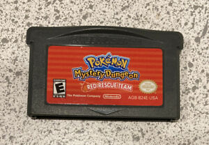Pokemon Mystery Dungeon: Red Rescue Team *Authentic* (Nintendo GBA, 2006)