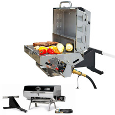 Gas Grill RV Camper Boat Camping Patio Tailgating Camp Portable Propane BBQ