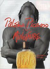 Publicité Advertising 1994 parfum paloma picasso crée minotaure