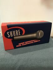 SHURE SM 58 Microphone (50th Anniversary Edition)