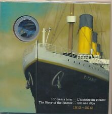 Canada 2012 colourized Titanic 25 cents