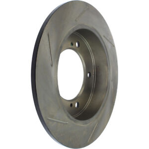 Disc Brake Rotor-Sport Slotted Front Left Stoptech 126.48004SL