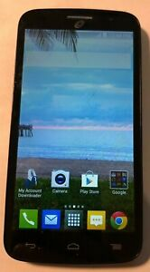 ALCATEL ONETOUCH Pop Icon 4GB A564 (Tracfone) Good Used Parts Repair Cracked