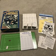 Avalon Hill - STATIS PRO FOOTBALL game : 1981 With 1986 Season Player Cards