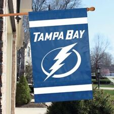 "Tampa Bay Lightning Flag House Banner 28"" x 44"" Party Animal NHL"