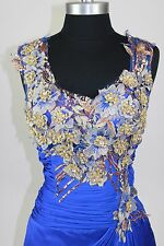 Women's Formal Embroidery Rhinestones beaded Long Evening Gown prom dress $179