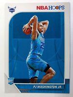 2019-20 Panini NBA Hoops PJ Washington Jr. Rookie RC #209, Charlotte Hornets