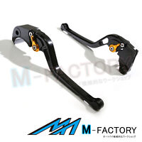 Fit Honda VTR 1000F FIRESTORM 02-05 03 Billet M-Factory Long Levers BLACK GOLD