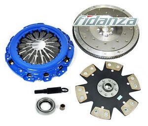 FX SOLID CLUTCH SET+FIDANZA FLYWHEEL fits 03-06 G35 NISSAN 350Z VQ35DE V6