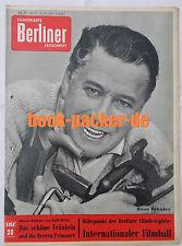 ILLUSTRIERTE BERLINER ZEITSCHRIFT 1960 Nr. 29: Internationaler Filmball