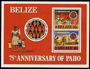 Belize   1981   Scott # 546   MNH Souvenir Sheet