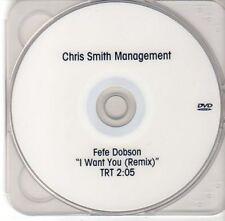 (DD224) Fefe Dobson, I Want You (remix) - DJ DVD