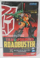 Fewture Action Toys EM Gokin Series EM-04 Transformers G1 Roadbuster Figure