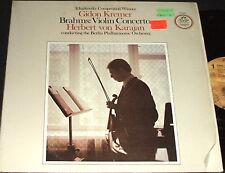 GIDON KREMER Brahms Violin Concerto Herbert Von Karajan LP ANGEL RECORDS