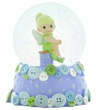 Precious Moments Gift Musical Water Globe Disney Tinkerbell Snow Globe Dome NEW