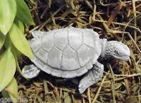 Latex mini sea turtle mold plaster cement mould
