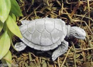 """Latex mini sea turtle mold plaster cement mould  3"""" x 2"""" x 1""""H"""